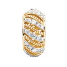 Diamond Set & 10ct Yellow Gold Charm