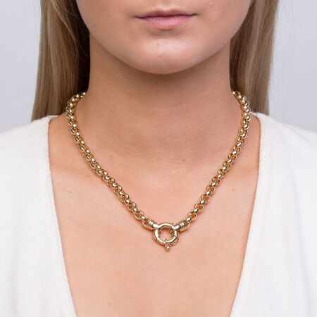 Belcher Chain in 10ct Yellow Gold