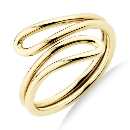 Single Loop Ring In 10Ct Yellow Gold