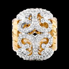 0.20 Carat TW Diamond Charm