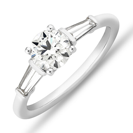 Sir Michael Hill Designer Engagement Ring with 1.13 Carat TW Diamonds in 18ct White Gold