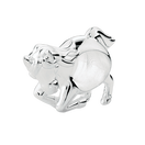Sterling Silver Jumping Pony Charm