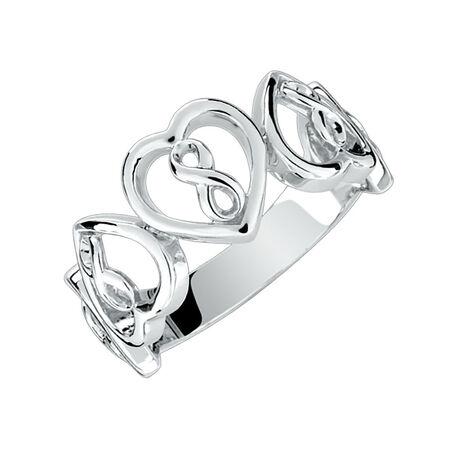 Infinitas Ring in Sterling Silver