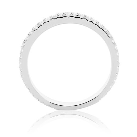 Sir Michael Hill Designer GrandArpeggio Wedding Band with 0.35 Carat TW of Diamonds in 14ct White Gold