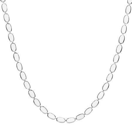 "80cm (32"") Rice Chain in Sterling Silver"