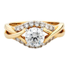 Online Exclusive - Engagement Ring with 1.40 Carat TW of Diamonds in 10ct Yellow & White Gold
