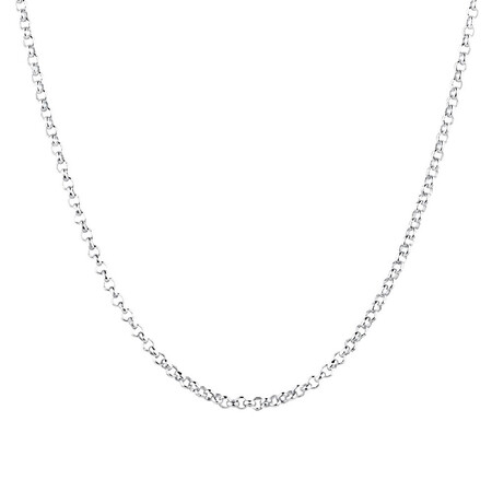 "40cm (16"") Belcher Chain in Sterling Silver"