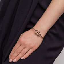 Knots Bangle in 10ct Yellow Gold