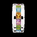 Multi-Coloured Cubic Zirconia Charm
