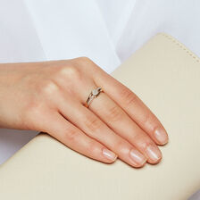 Ring with Diamonds in 10ct Yellow Gold