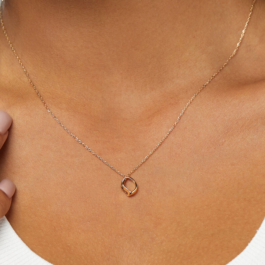 Mini Spirits Bay Necklace In 10ct Yellow Gold