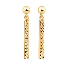 Drop Bar Earrings in 10ct Yellow Gold