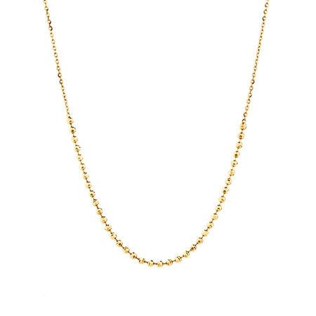 "30cm (12"") Ball Choker in 10ct Yellow Gold"