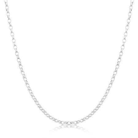 "80cm (32"") Belcher Chain in Sterling Silver"