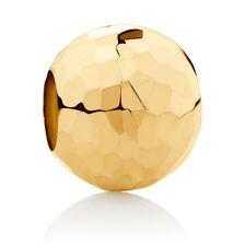Faceted Charm in 10ct Yellow Gold