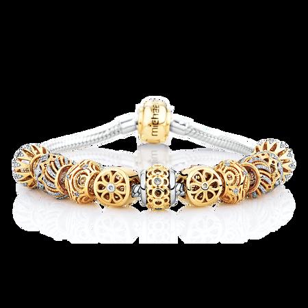 1/4 Carat TW Diamond Charm Bracelet