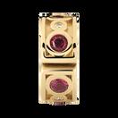 Created Ruby & Diamond Set Stopper