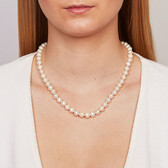 "45cm (18"") Necklace with Cultured Freshwater Pearls in Sterling Silver"