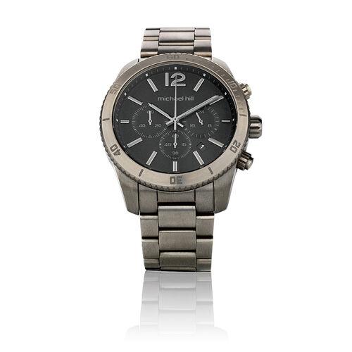 Men's Chronograph Watch In Titanium