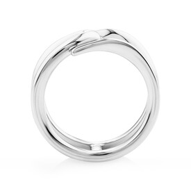 Mark Hill Wishbone Ring in Sterling Silver