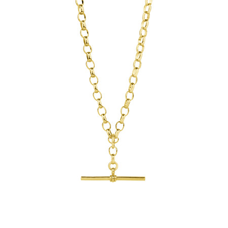 """55cm (22"""") Belcher Fob Chain in 10ct Yellow Gold"""