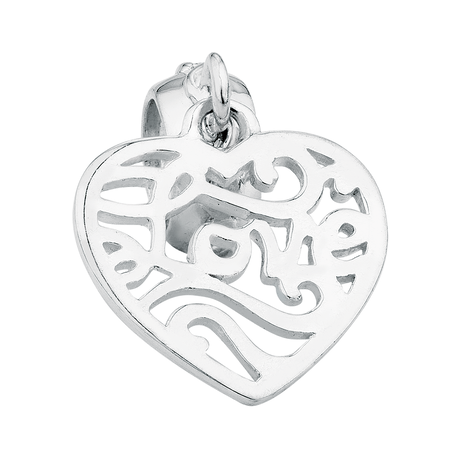 Sterling Silver Love Dangle Charm