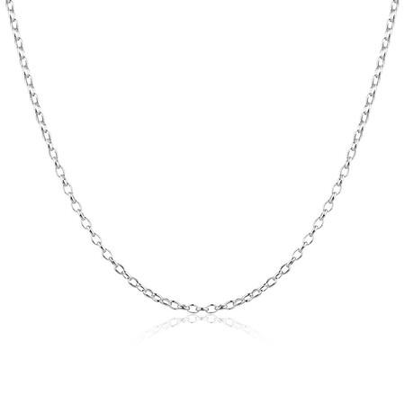 """60cm (24"""") Belcher Chain in Sterling Silver"""