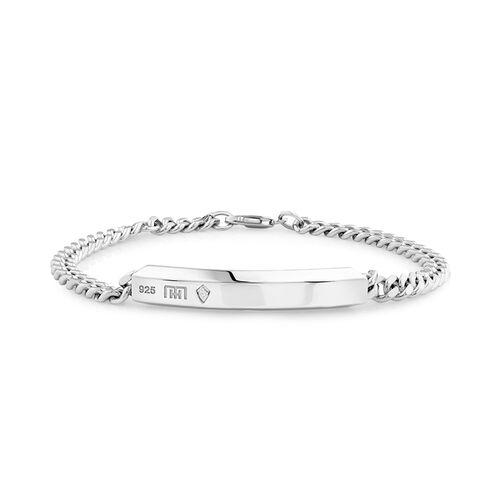 Curb Bracelet in Sterling Silver