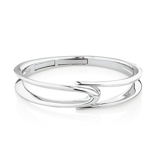 Mark Hill Bangle in Sterling Silver