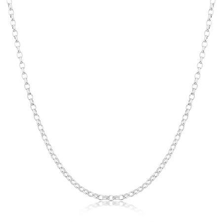 """80cm (32"""") Belcher Chain in Sterling Silver"""