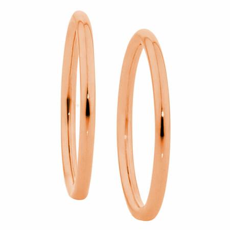 Sleeper Earrings in 10ct Rose Gold