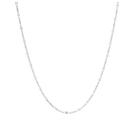 """60cm (24"""") Fancy Chain in Sterling Silver"""