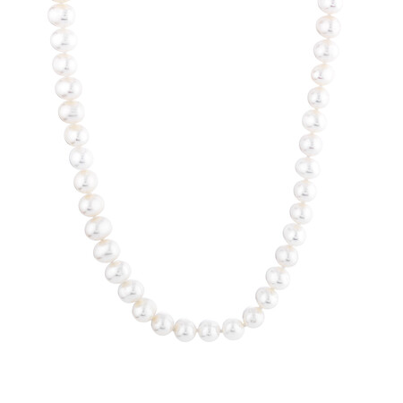 Pearl Pendant set in 10ct Yellow Gold