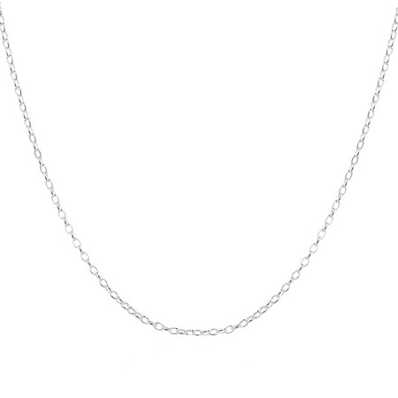 "70cm (28"") Belcher Chain in Sterling Silver"