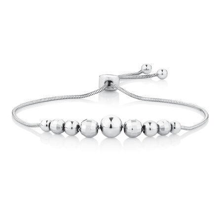 Adjustable Bracelet in Sterling Silver