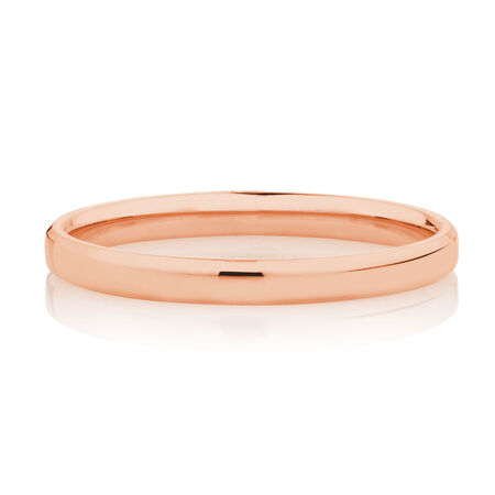 2mm Wedding Band in 10ct Rose Gold