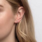4mm Ball Stud Earrings in Sterling Silver
