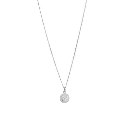 Sagittarius Zodiac Pendant in Sterling Silver