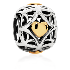 Patterned Star Charm