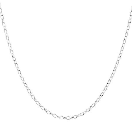 """65cm (26"""") Belcher Chain in Sterling Silver"""