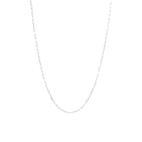 50cm Paperclip Chain in Sterling Silver