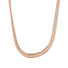 "45cm (18"") Fancy Chain in 10ct Rose & Yellow Gold"