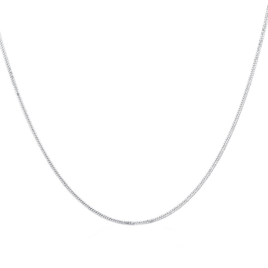 Curb Chain in Sterling Silver