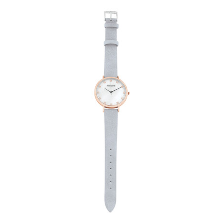 Watch Box Set in Rose Tone Stainless Steel