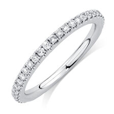 Sir Michael Hill Designer GrandAllegro Wedding Band with 0.33 Carat TW of Diamonds in 14ct White Gold