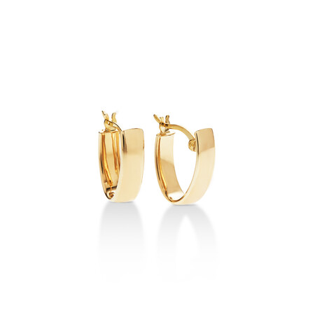 Huggie Earrings in 10ct Yellow Gold