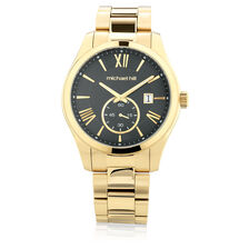 Men s Watch in Gold Tone Stainless Steel ... 0aa579283498