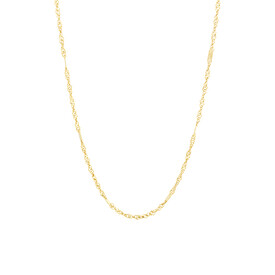 """45cm (18"""") Fancy Chain in 18ct Yellow Gold"""