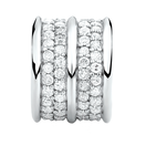 1/2 Carat TW Diamond Charm in Sterling Silver