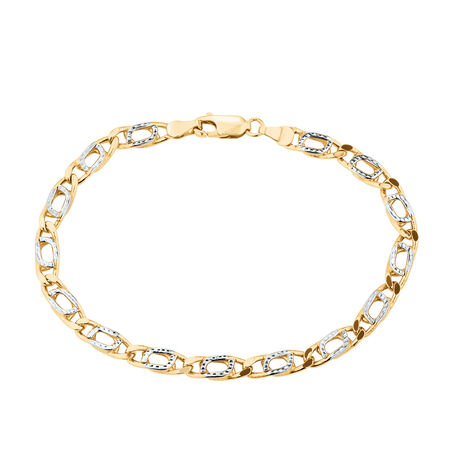 Bracelet in 10ct Yellow Gold